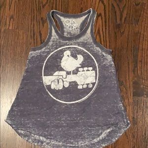 Chaser guitar Woodstock tank top - small
